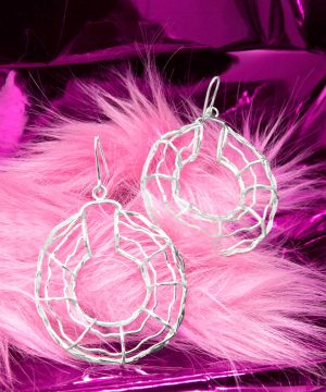 macumba collection jhamiluv silver earrings